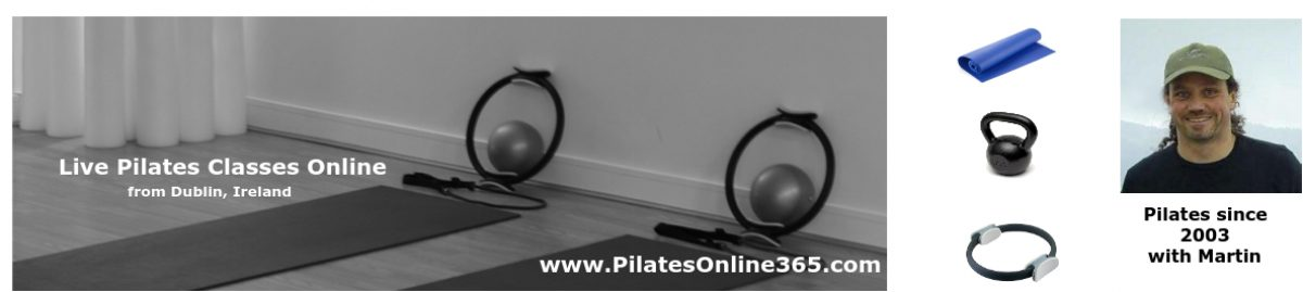 > Pilates Online 365, Live Online & Prerecorded Videos